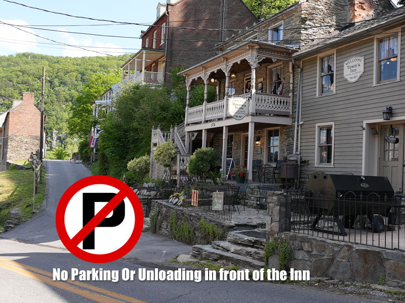 No Parking or Unloading